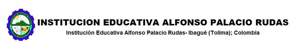 I.E. Alfonso Palacio Rudas